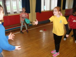 P5 participate in Sport for Life!